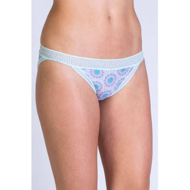 ExOfficio - Women's Give-N-Go Print Lacy Low Rise Bikini
