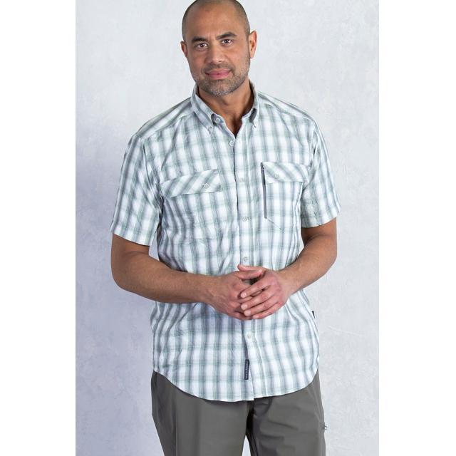 ExOfficio - Men's Lodestone Plaid Short Sleeve Shirt