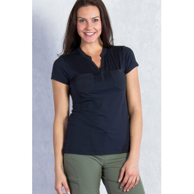 ExOfficio - Women's Wanderlux Henley Short Sleeve Shirt
