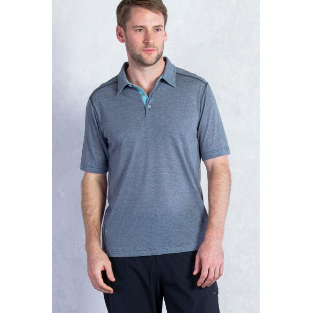 ExOfficio - Men's Sol Cool Jacquard Polo Short Sleeve Shirt