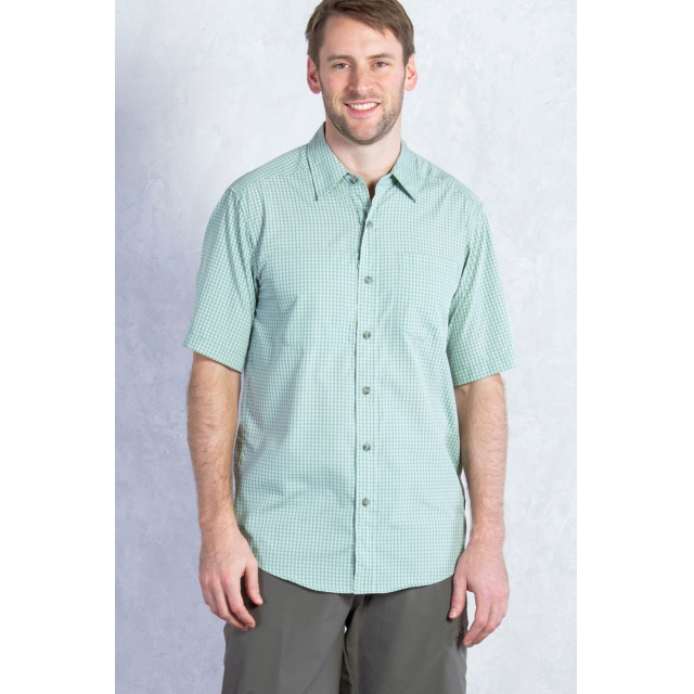 ExOfficio - Men's Corsico Check Short Sleeve Shirt