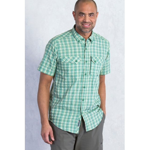 ExOfficio - Men's Sol Cool Cryogen Plaid Short Sleeve Shirt