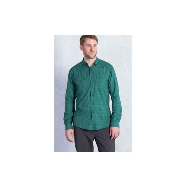 ExOfficio - Men's Minimo Plaid Long Sleeve Shirt