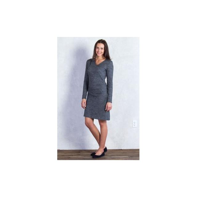 ExOfficio - Women's Wanderlux Jacquard Draped Dress