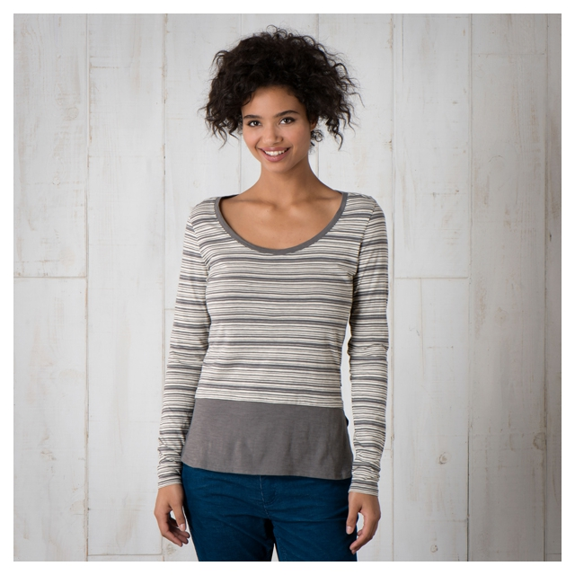 Toad&Co - Stripeout Solid Hem Tee