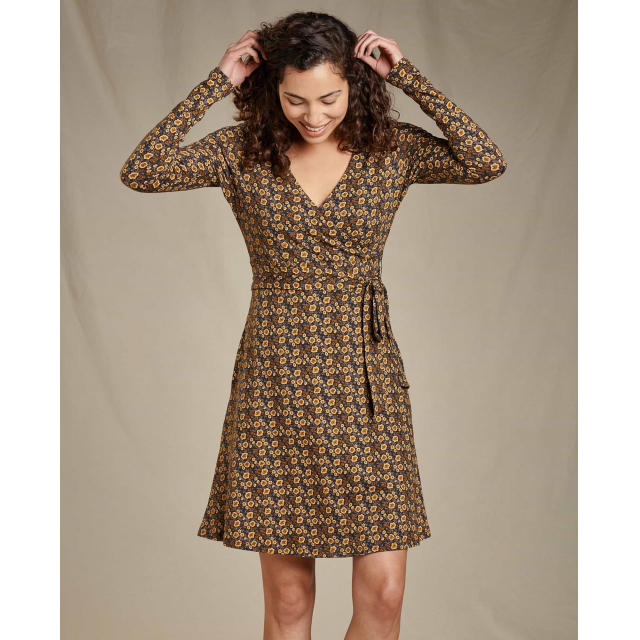 Toad&Co - Cue Wrap LS Dress in Sioux Falls SD