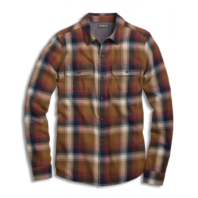 Toad&Co - Men's Indigo Flannel LS Shirt Slim