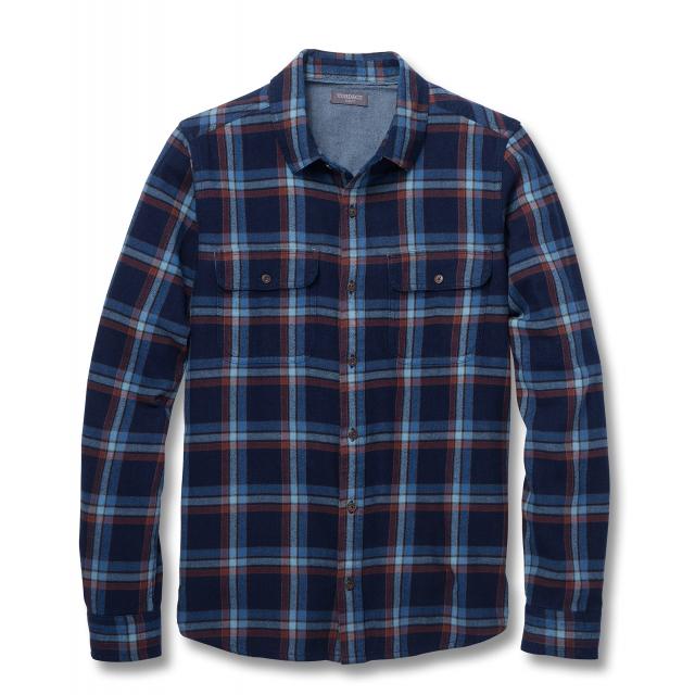 Toad&Co - Men's Indigo Flannel Slim LS Shirt