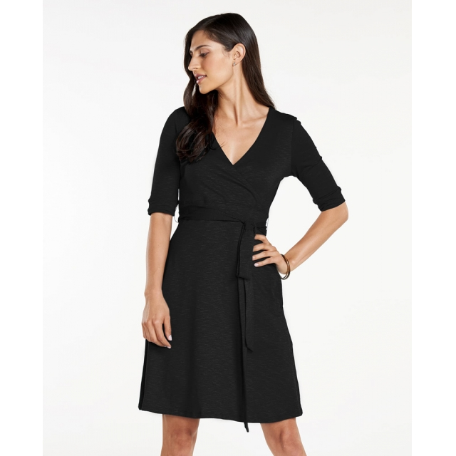 Toad&Co - Cue Wrap Café Dress in Sioux Falls SD