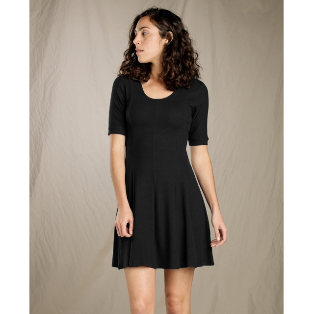 Toad&Co - Women's Daisy Rib Café Slv Dress