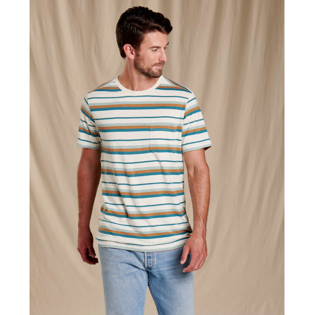 Toad&Co - Men's Grom Hemp SS Shirt in Sioux Falls SD