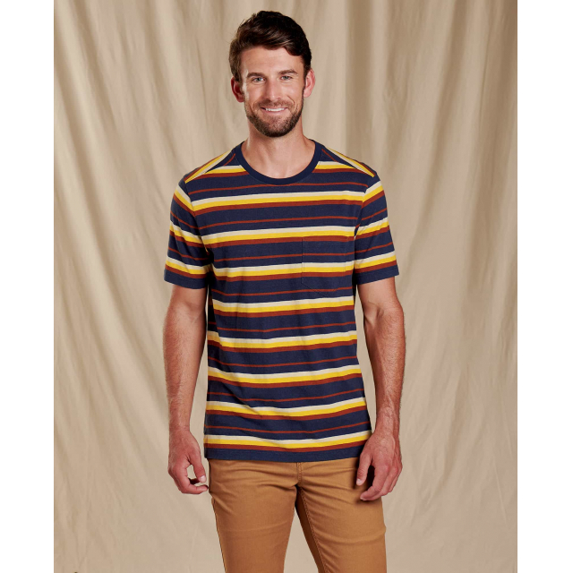 Toad&Co - Men's Grom Hemp SS Tee in Sioux Falls SD
