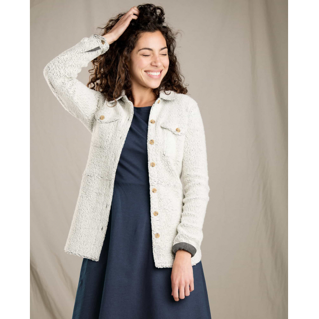Toad&Co - Women's Telluride Sherpa Shirt Jacket in Sioux Falls SD