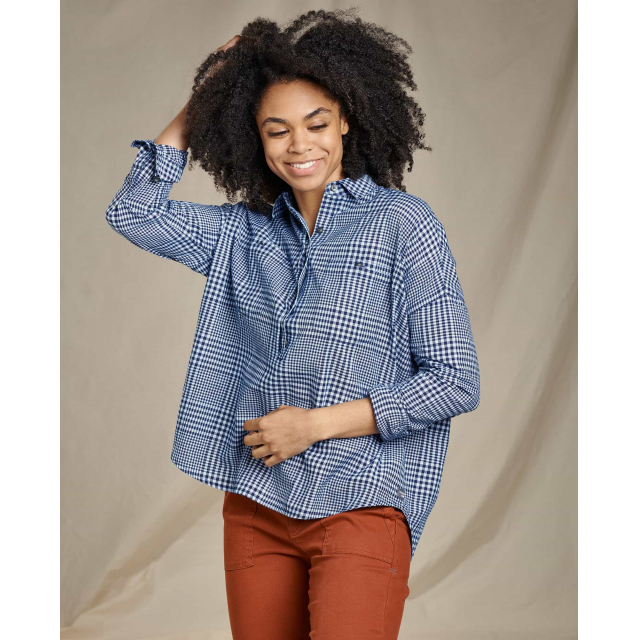Toad&Co - Women's Indigo Wells LS Popover in Sioux Falls SD