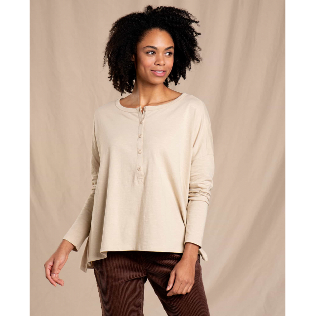 Toad&Co - Women's Primo LS Henley in Chelan WA