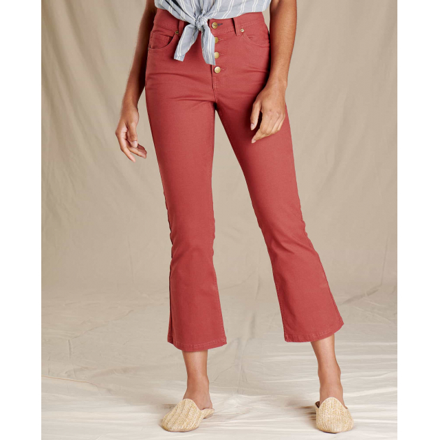 Toad&Co - Women's Earthworks Kick Flare Pant in Sioux Falls SD