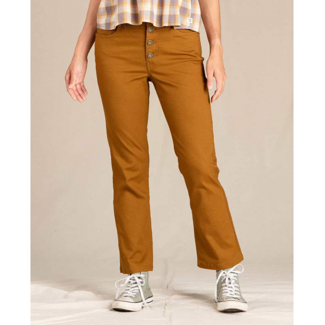 Toad&Co - Women's Earthworks Kick Flare Pant in Golden CO