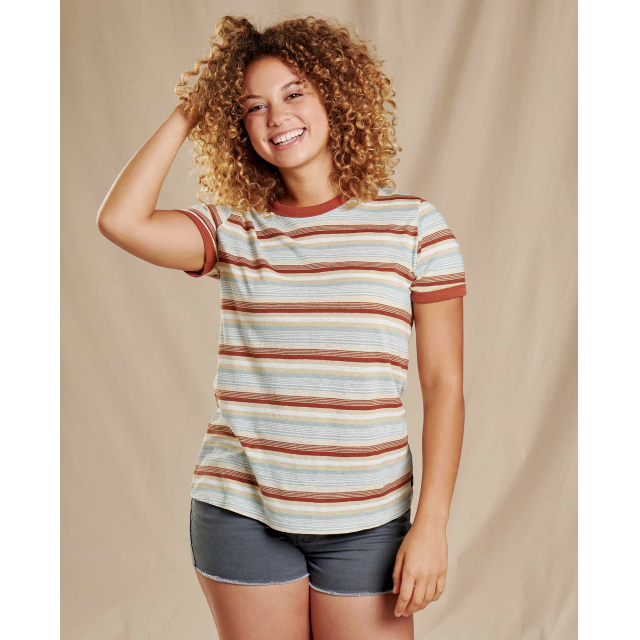 Toad&Co - Women's Grom Ringer SS Tee in Sioux Falls SD
