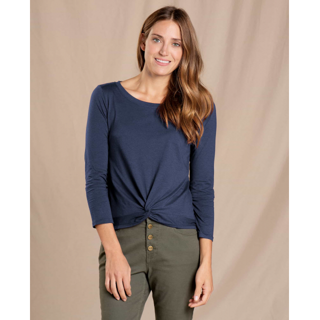 Toad&Co - Women's Maisey 3/4 Sleeve Twist Top