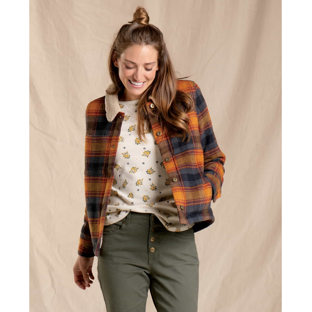Toad&Co - Women's Burntside Trucker Jacket in Chelan WA