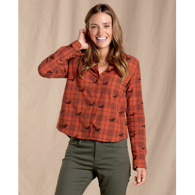 Women's Funday LS Swing Shirt