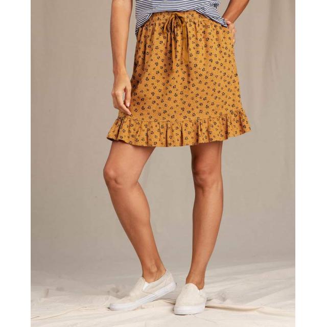 Toad&Co - Women's Taj Hemp Ruffle Skirt in Chelan WA