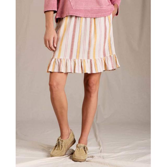 Toad&Co - Women's Taj Hemp Ruffle Skirt