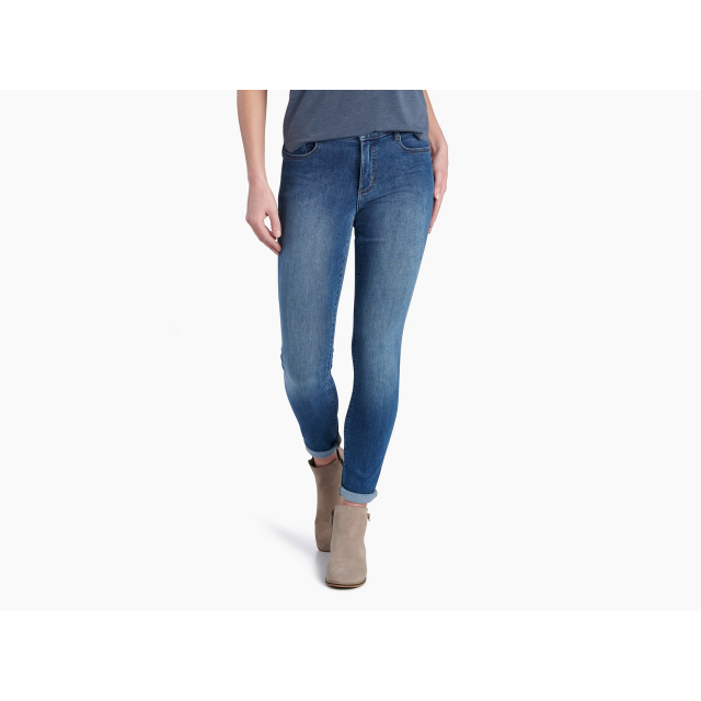"KUHL - Women's 10"" Kontour Flex Denim Skinny in Chelan WA"