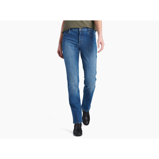 "KUHL - Women's 10""Kontour Flex Denim Straight in Chelan WA"
