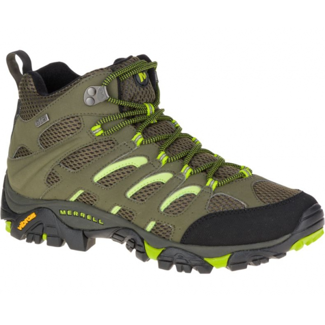 Merrell - Men's Moab Mid Waterproof