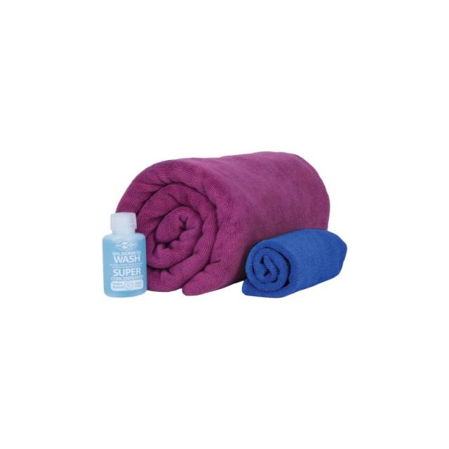 Sea to Summit - Tek Towel Wash Kit