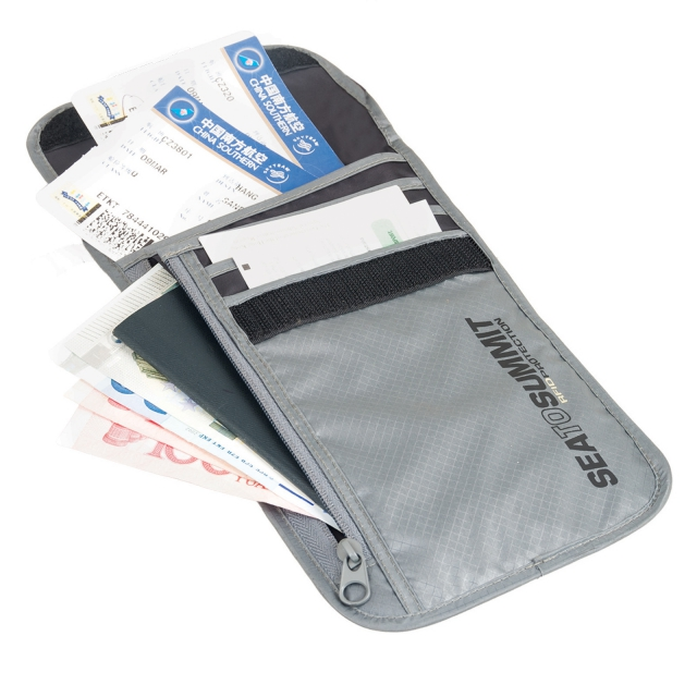 Sea to Summit - Travelling Light Neck Wallet RFID
