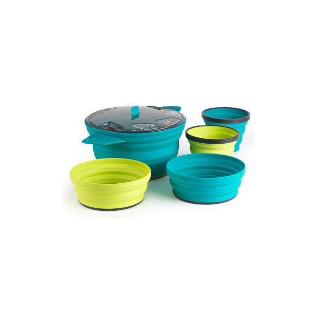 X-SET 31 5 Piece – X Pot – 2.8L &  2 X Bowls & 2 X Mugs