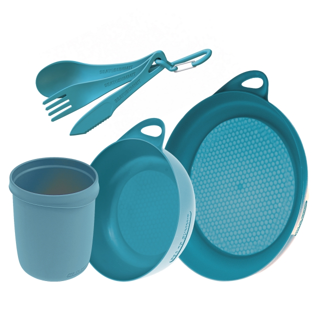 Sea to Summit - Delta Camp Set :  Bowl & Plate & Mug & Cutlery