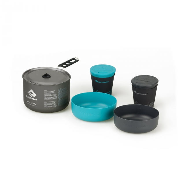 Sea to Summit - Alpha Cook Set 2.1 - 1.9L pot, 2 bowls, 2 cups in Sioux Falls SD
