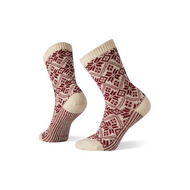 Smartwool - Women's Everyday Traditional Snowflake Crew Socks in Marion IA