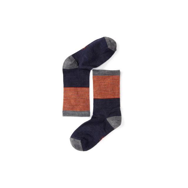Smartwool - Boys' Tailored Stripe Crew Socks