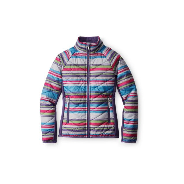 Smartwool - Girls' SmartLoft Printed Double Corbet 120 Jacket