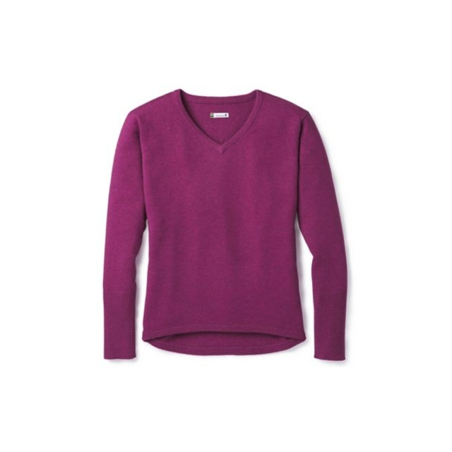 Smartwool - Women's Shadow Pine V-Neck Sweater in Iowa City IA