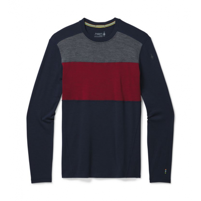 Men's Merino 250 Baselayer Colorblock Crew