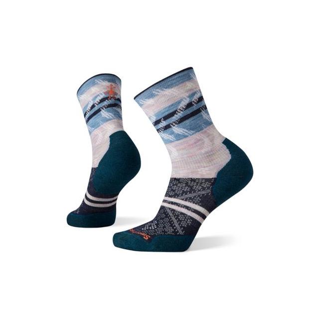 Smartwool - Women's Run Targeted Cushion Pattern Crew Socks in Marion IA