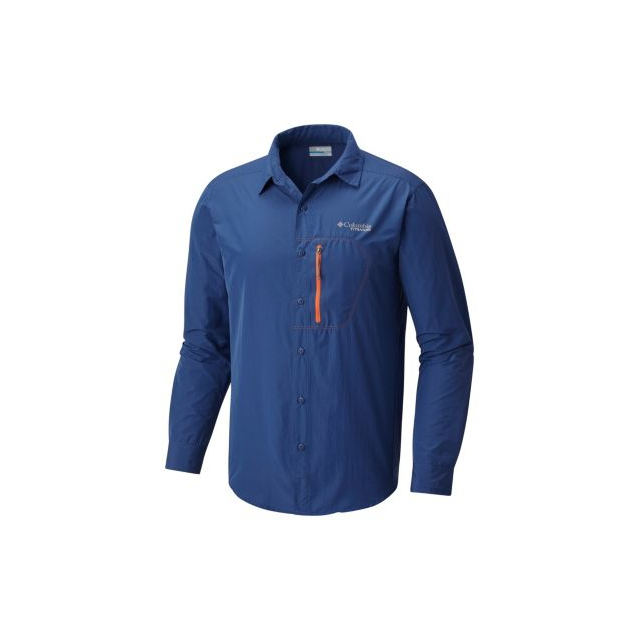 8f15bb85117 Columbia / Men's Featherweight Hike Long Sleeve Shirt