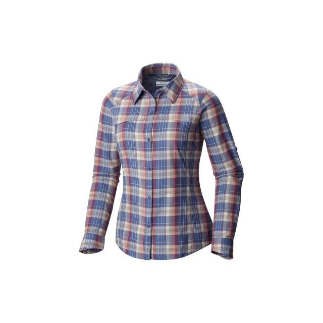 Columbia - Women's Silver Ridge Plaid Long Sleeve Shirt
