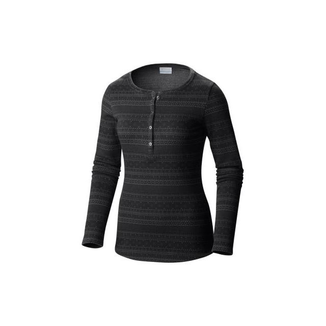 Columbia - Women's Aspen Lodge Jacquard Henley Long Sleeve Shirt