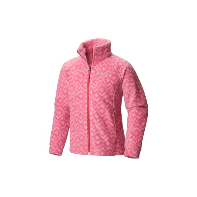 Columbia - Girl's Benton Springs II Printed Fleece Jacket - Toddler