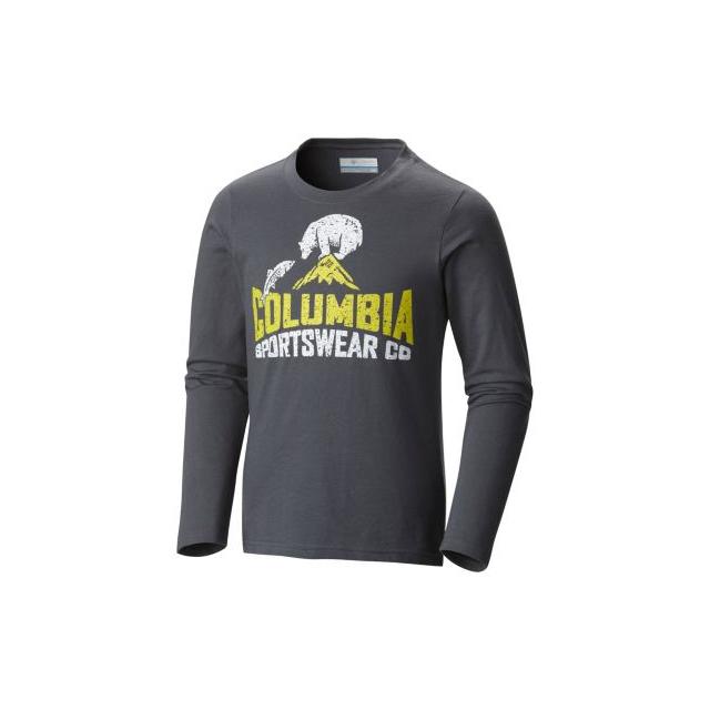 Columbia - Boy's CSC Bear N' Fish Long Sleeve Tee Shirt