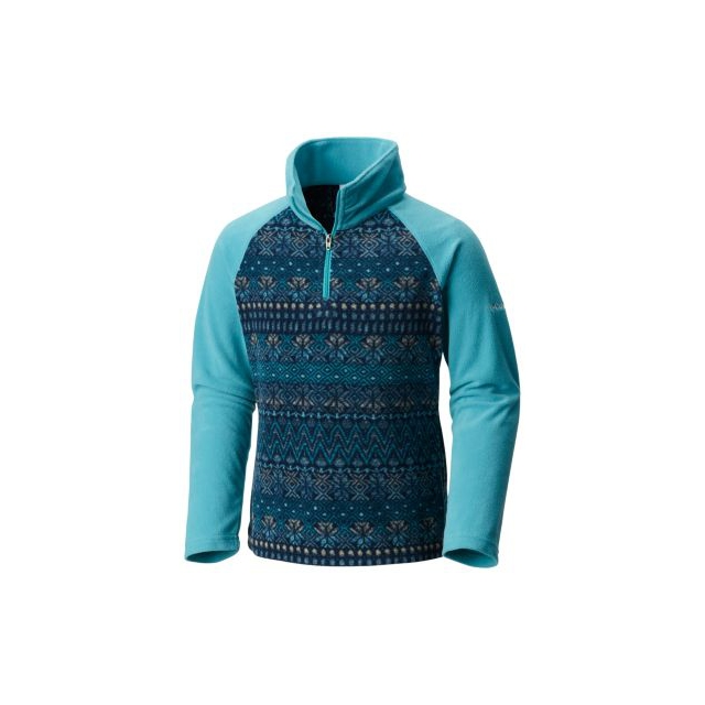 Columbia - Youth Girl's Glacial II Fleece Print Half Zip
