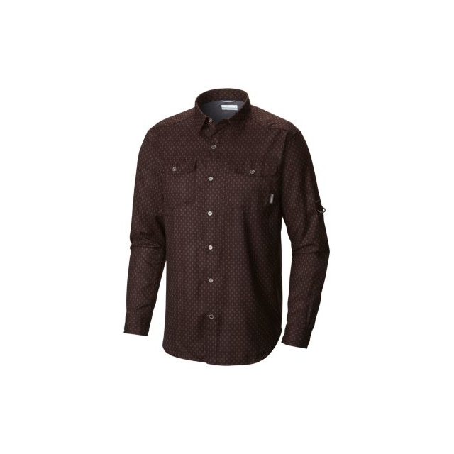 Columbia - Pilsner Lodge Print Long Sleeve Shirt