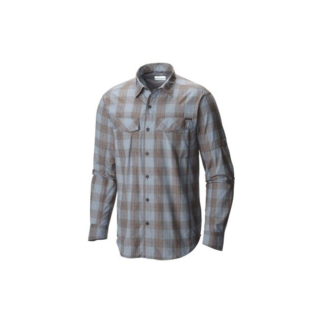 Columbia - Men's Silver Ridge Plaid Long Sleeve Shirt - Big