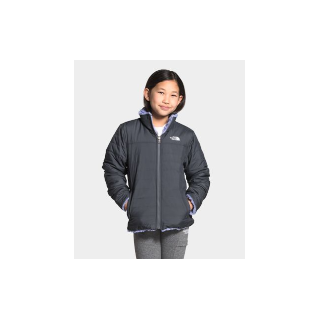 Girl's Reversible Mossbud Swirl Jacket